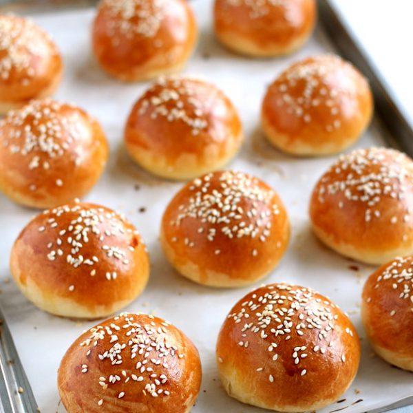 Mini Burger Ekmeği Tarifi