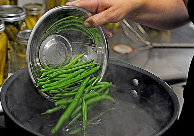 Blanching Method